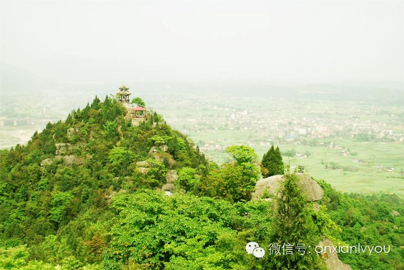 罗浮山位于四川绵阳市安县境内,又名落浮山